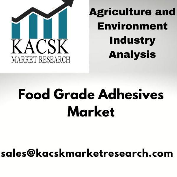 Food Grade Adhesives Market