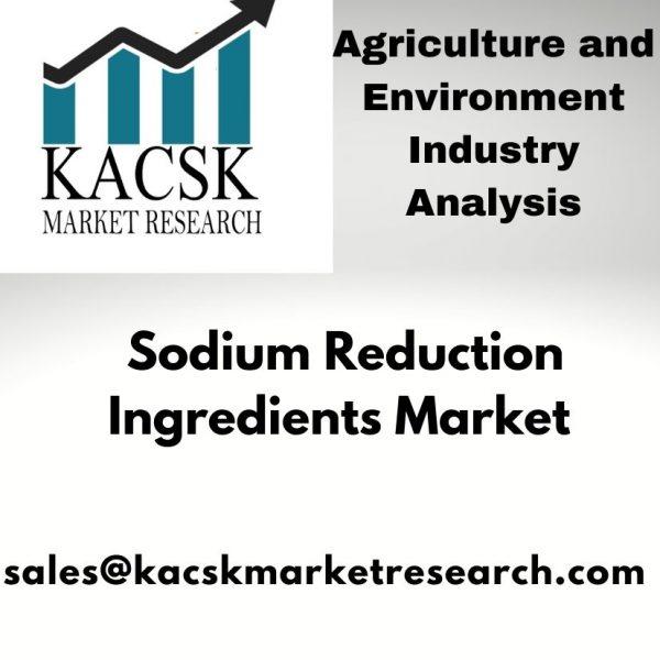 Sodium Reduction Ingredients Market