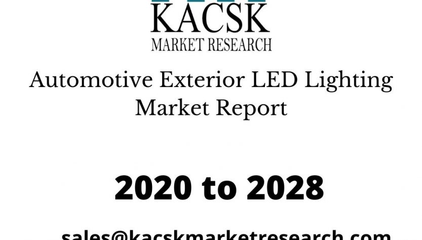 Automotive Exterior LED Lighting Market