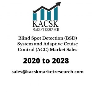 Blind Spot Detection (BSD) System and Adaptive Cruise Control (ACC) Market Sales
