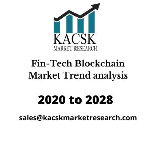 Fin-Tech Blockchain Market Trend analysis