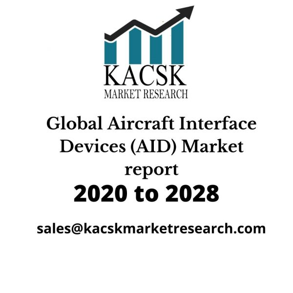 Global Aircraft Interface Devices (AID) Market report,