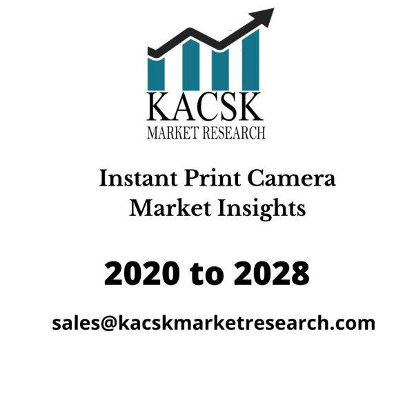 Instant Print Camera Market Insights
