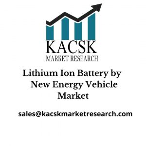 Lithium Ion Battery by New Energy Vehicle Market