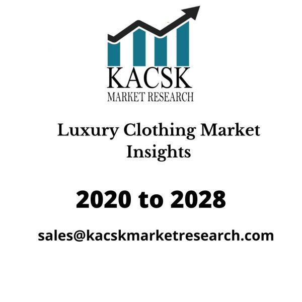 Luxury Clothing Market Insights