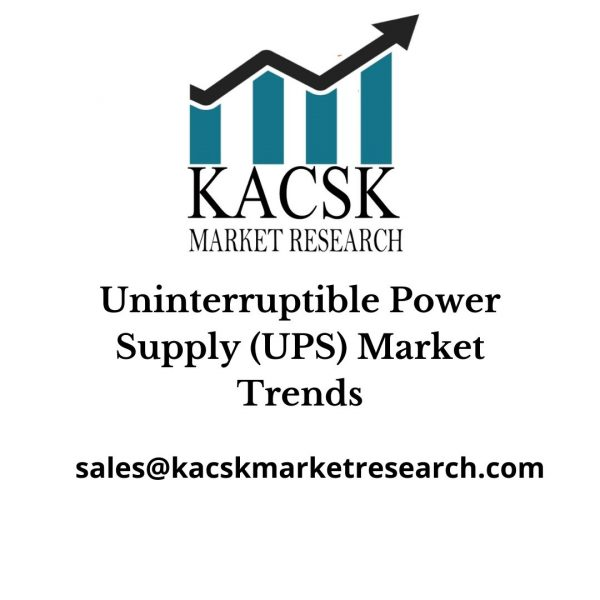 Uninterruptible Power Supply (UPS) Market Trends