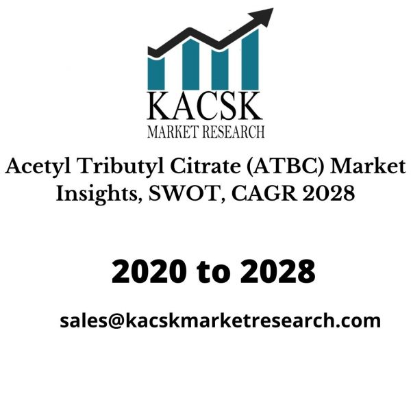 Acetyl Tributyl Citrate (ATBC) Market Insights, SWOT, CAGR 2028