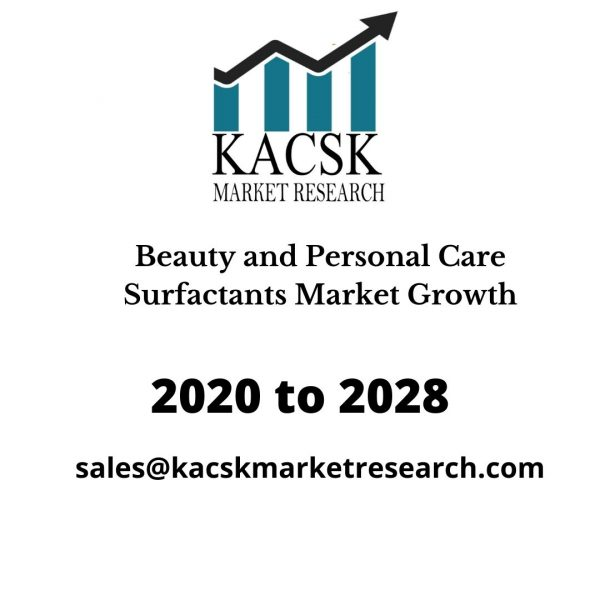 Beauty and Personal Care Surfactants Market Growth