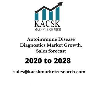 Autoimmune Disease Diagnostics Market Growth, Sales forecast