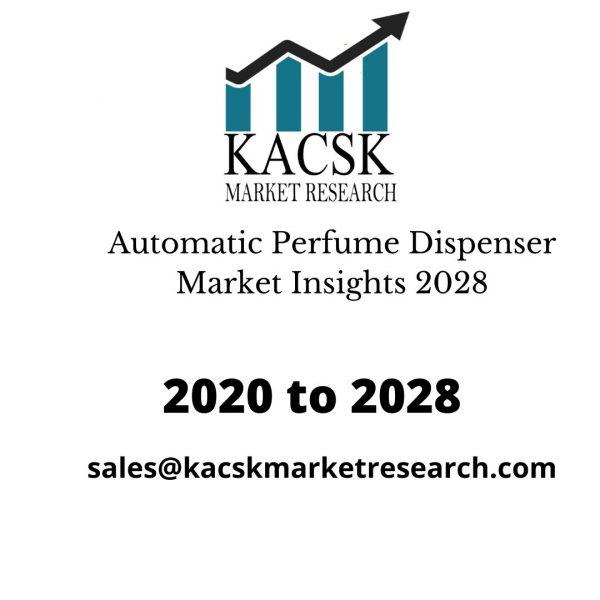 Automatic Perfume Dispenser Market Insights 2028