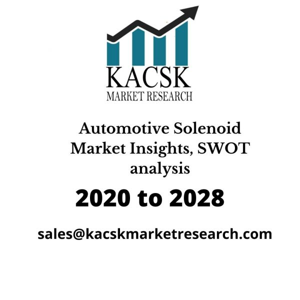 Automotive Solenoid Market Insights, SWOT analysis
