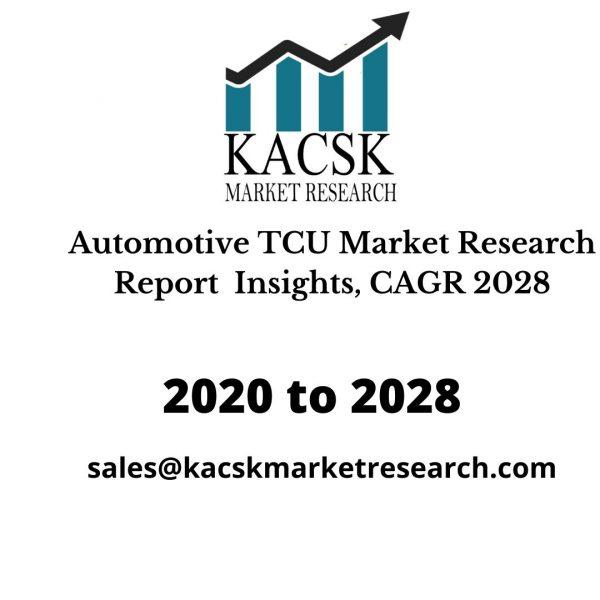 Automotive TCU Market Research Report Insights, CAGR 2028