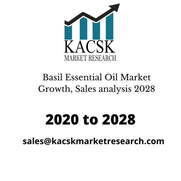 Basil Essential Oil Market Growth, Sales analysis 2028