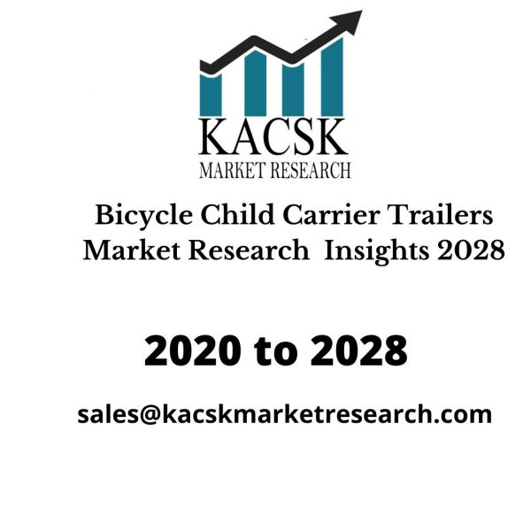 Bicycle Child Carrier Trailers Market Research Insights 2028