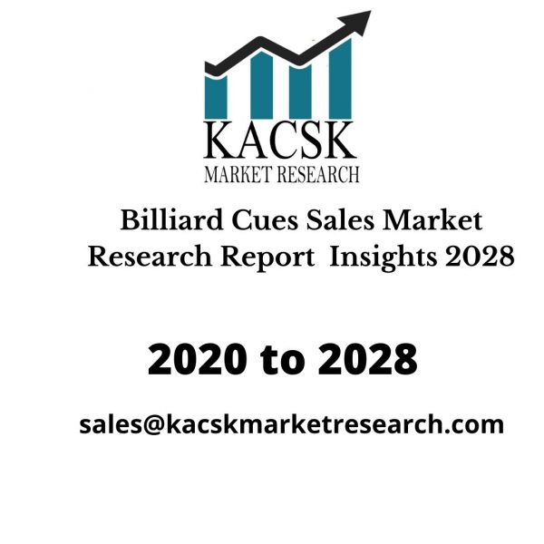 Billiard Cues Sales Market Research Report Insights 2028