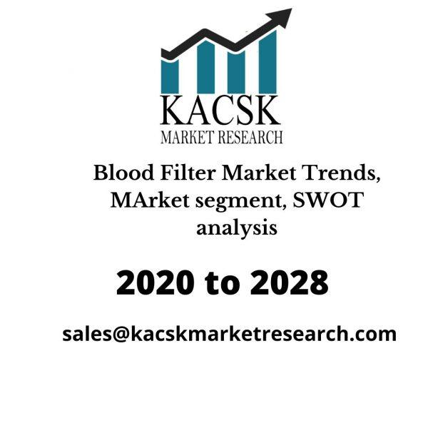 Blood Filter Market Trends, MArket segment, SWOT analysis