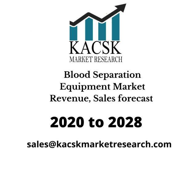 Blood Separation Equipment Market Revenue, Sales forecast