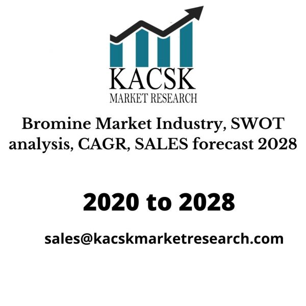 Bromine Market Industry, SWOT analysis, CAGR, SALES forecast 2028