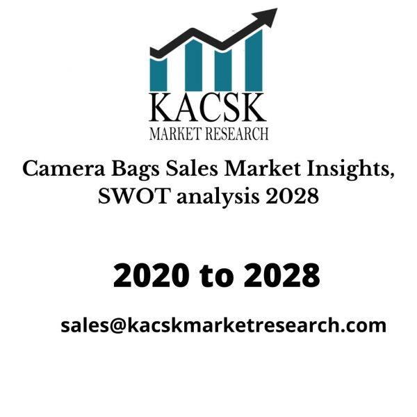 Camera Bags Sales Market Insights, SWOT analysis 2028