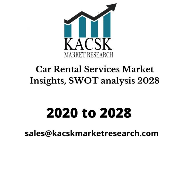 Car Rental Services Market Insights, SWOT analysis 2028