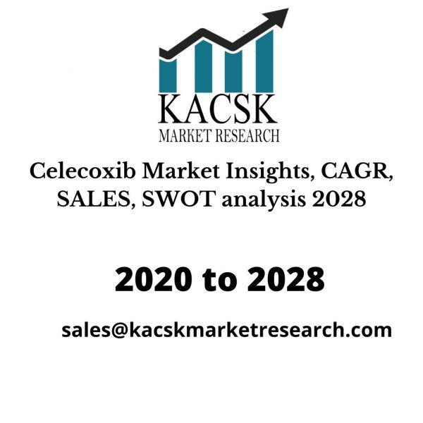 Celecoxib Market Insights, CAGR, SALES, SWOT analysis 2028