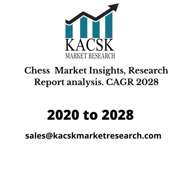 Chess  Market Insights, Research Report analysis. CAGR 2028