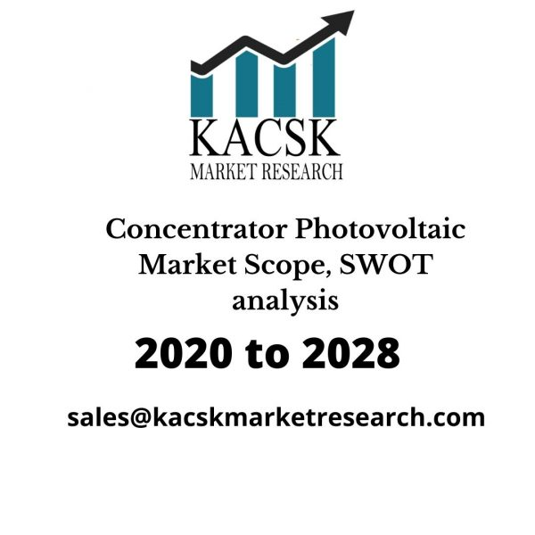 Concentrator Photovoltaic Market Scope, SWOT analysis
