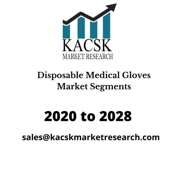 Disposable Medical Gloves Market Segments