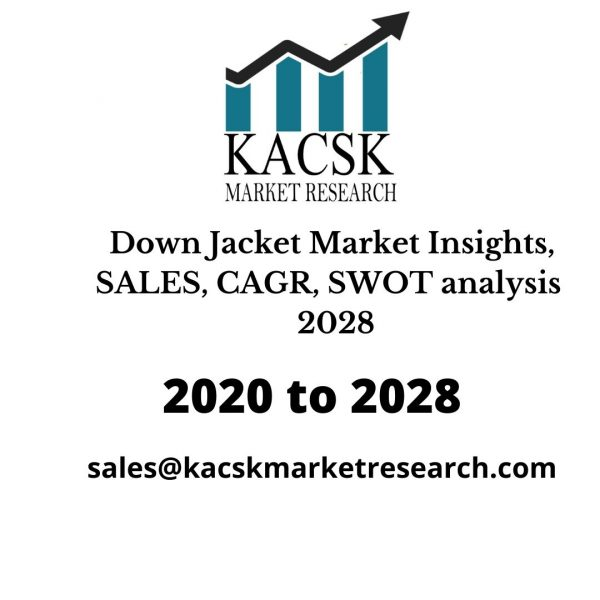 Down Jacket Market Insights, SALES, CAGR, SWOT analysis 2028