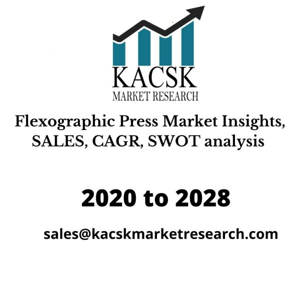Flexographic Press Market Insights, SALES, CAGR, SWOT analysis