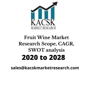 Fruit Wine Market Research Scope, CAGR, SWOT analysis