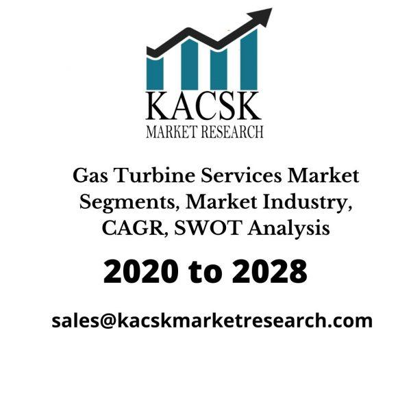 Gas Turbine Services Market Segments, Market Industry,