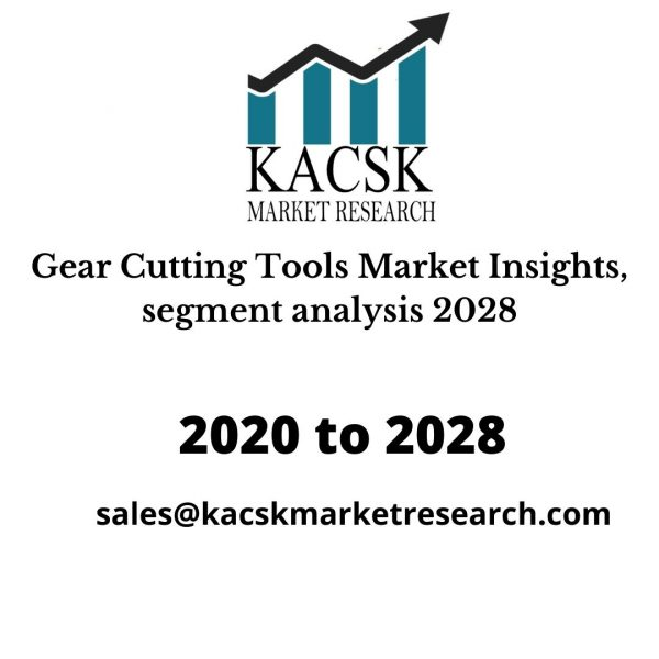 Gear Cutting Tools Market Insights, segment analysis 2028