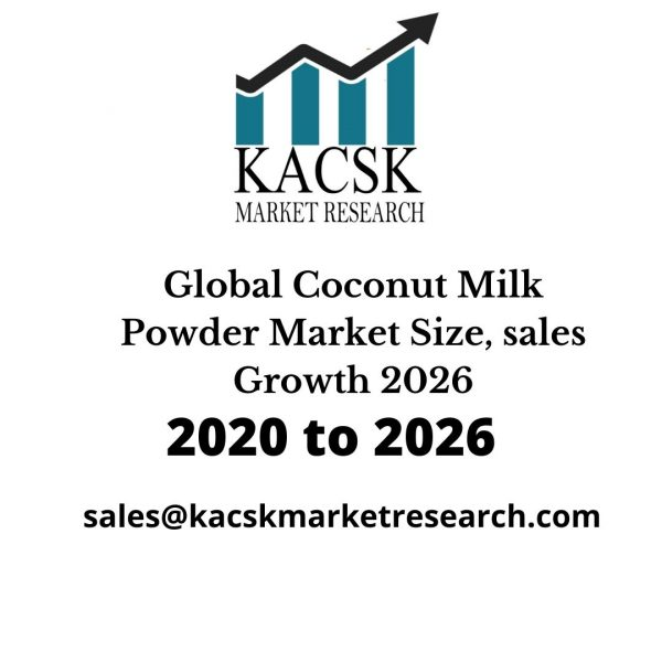 Global Coconut Milk Powder Market Size, sales Growth 2026