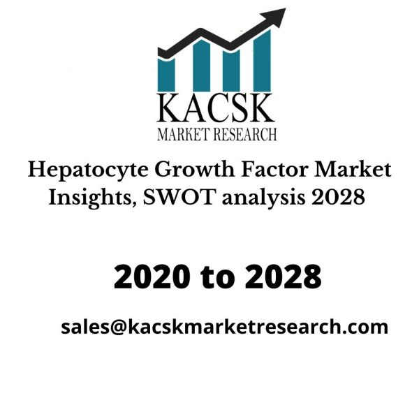 Hepatocyte Growth Factor Market Insights, SWOT analysis 2028