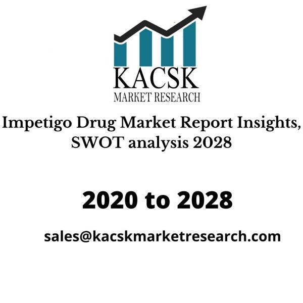 Impetigo Drug Market Report Insights, SWOT analysis 2028