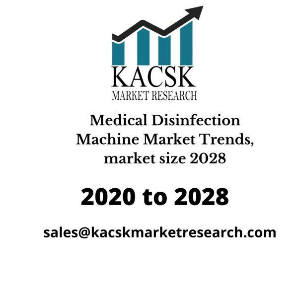 Medical Disinfection Machine Market Trends, market size 2028