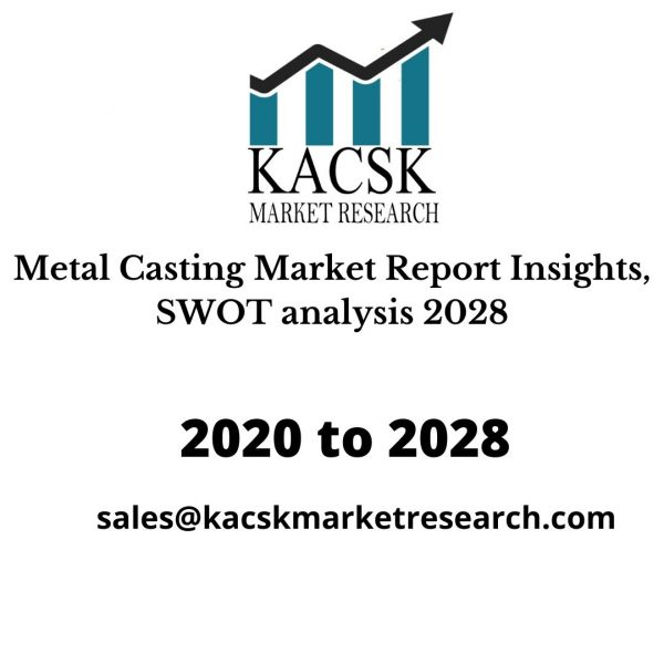 Metal Casting Market Report Insights, SWOT analysis 2028