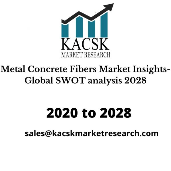 Metal Concrete Fibers Market Insights- Global SWOT analysis 2028