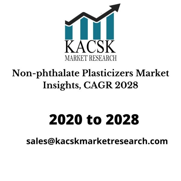 Non-phthalate Plasticizers Market Insights, CAGR 2028