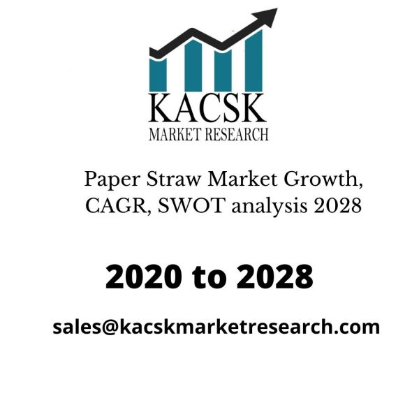 Paper Straw Market Growth, CAGR, SWOT analysis 2028