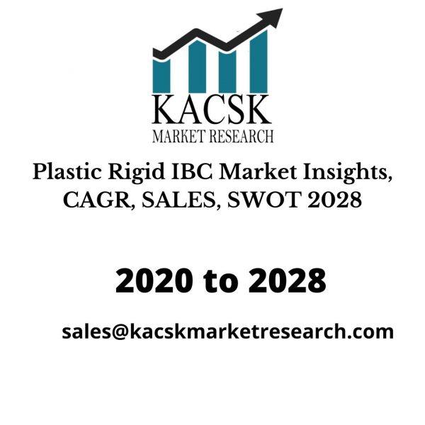 Plastic Rigid IBC Market Insights, CAGR, SALES, SWOT 2028