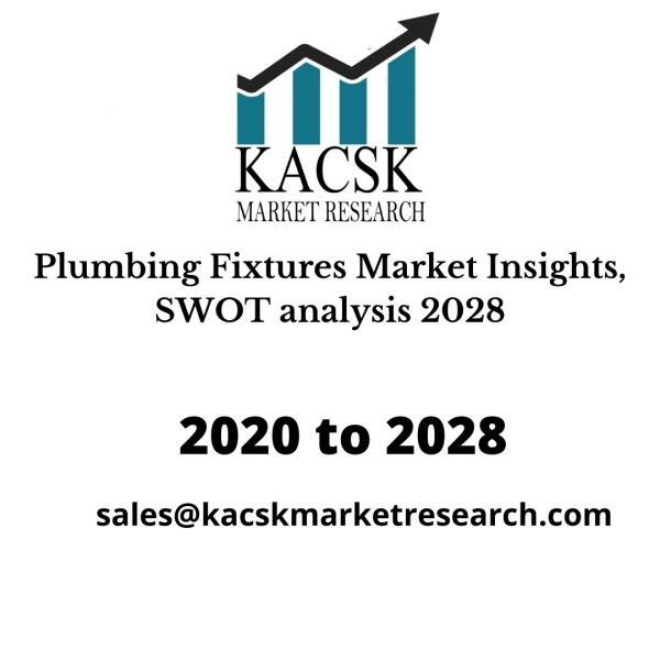 Plumbing Fixtures Market Insights, SWOT analysis 2028