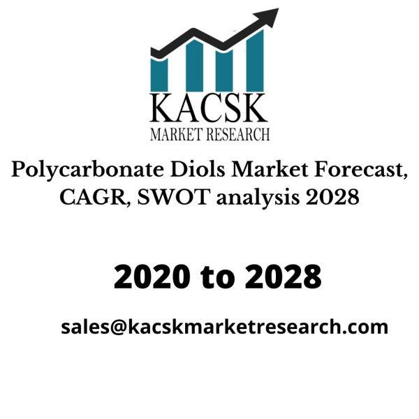 Polycarbonate Diols Market Forecast, CAGR, SWOT analysis 2028