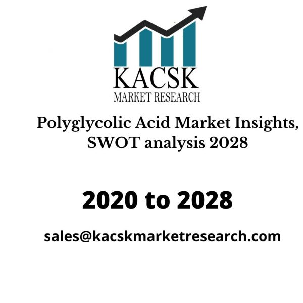 Polyglycolic Acid Market Insights, SWOT analysis 2028