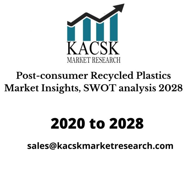 Post-consumer Recycled Plastics Market Insights, SWOT analysis 2028