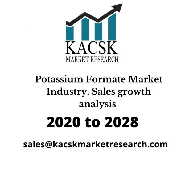 Potassium Formate Market Industry, Sales growth analysis