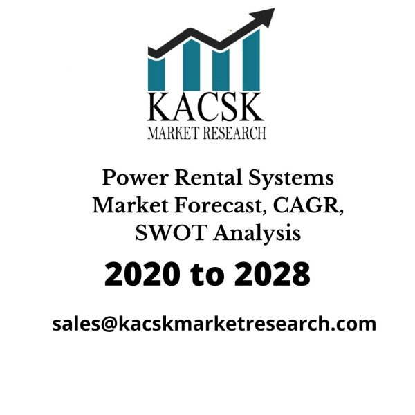 Power Rental Systems Market Forecast, CAGR, SWOT Analysis