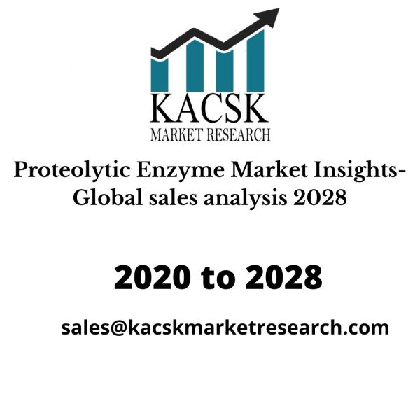 Proteolytic Enzyme Market Insights- Global sales analysis 2028