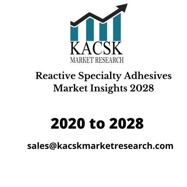 Reactive Specialty Adhesives Market Insights 2028